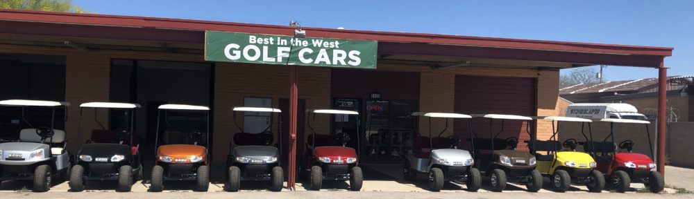 best in the west golf cars front